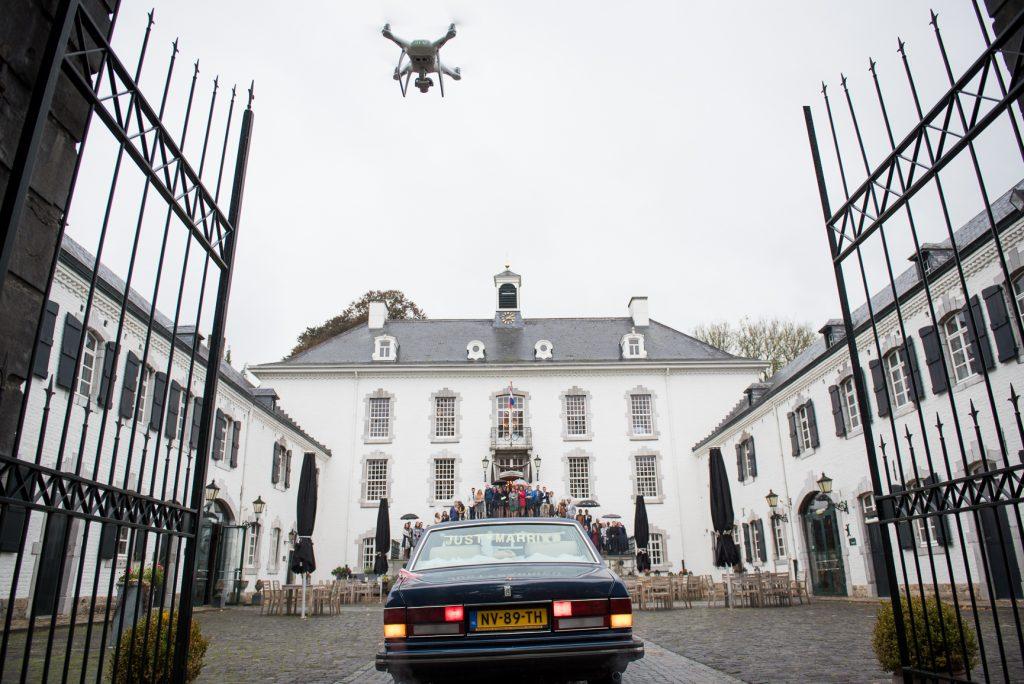 Drone filmen bruiloft Limburg